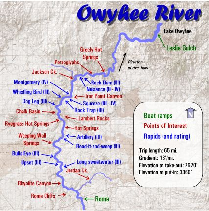 Great Fishing In A Place You Can't Pronounce - The Owyhee | The